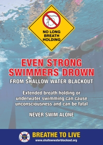 Even Strong Swimmers Drown - A3 Poster